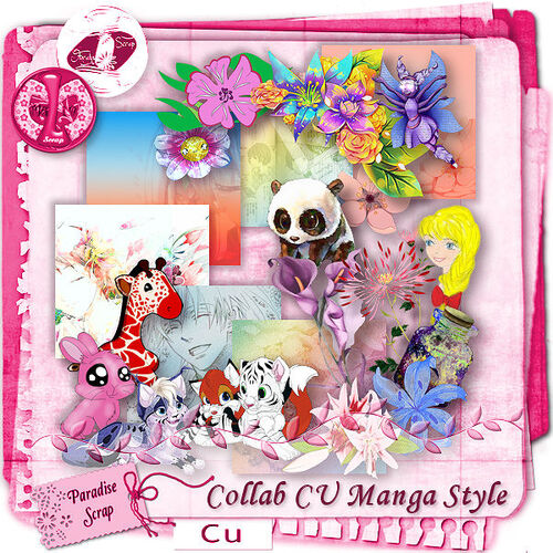 "Collab CU ""Manga Style"""