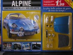 N° 1 Construisez l'Alpine - Test
