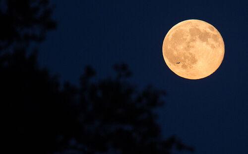 Une super lune...