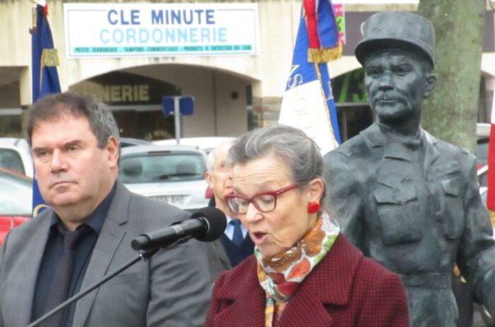 L'hommage au Général de Bollardière le 19 mars 2019 à Carhaix