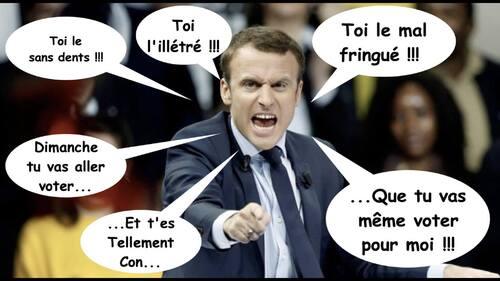 """Le seul vrai """"talent"""" de Macron: le mépris de classe – Par Floréal (IC.fr-30/09/2017)"""