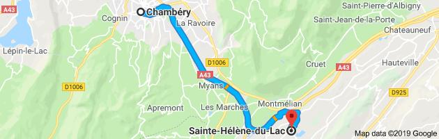884 - En allant vers le Lac du Bourget !