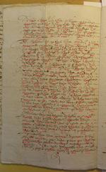 XVII siècle. Description de l'église prieurale