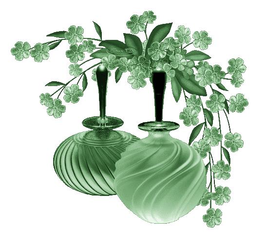 Fleurs verte