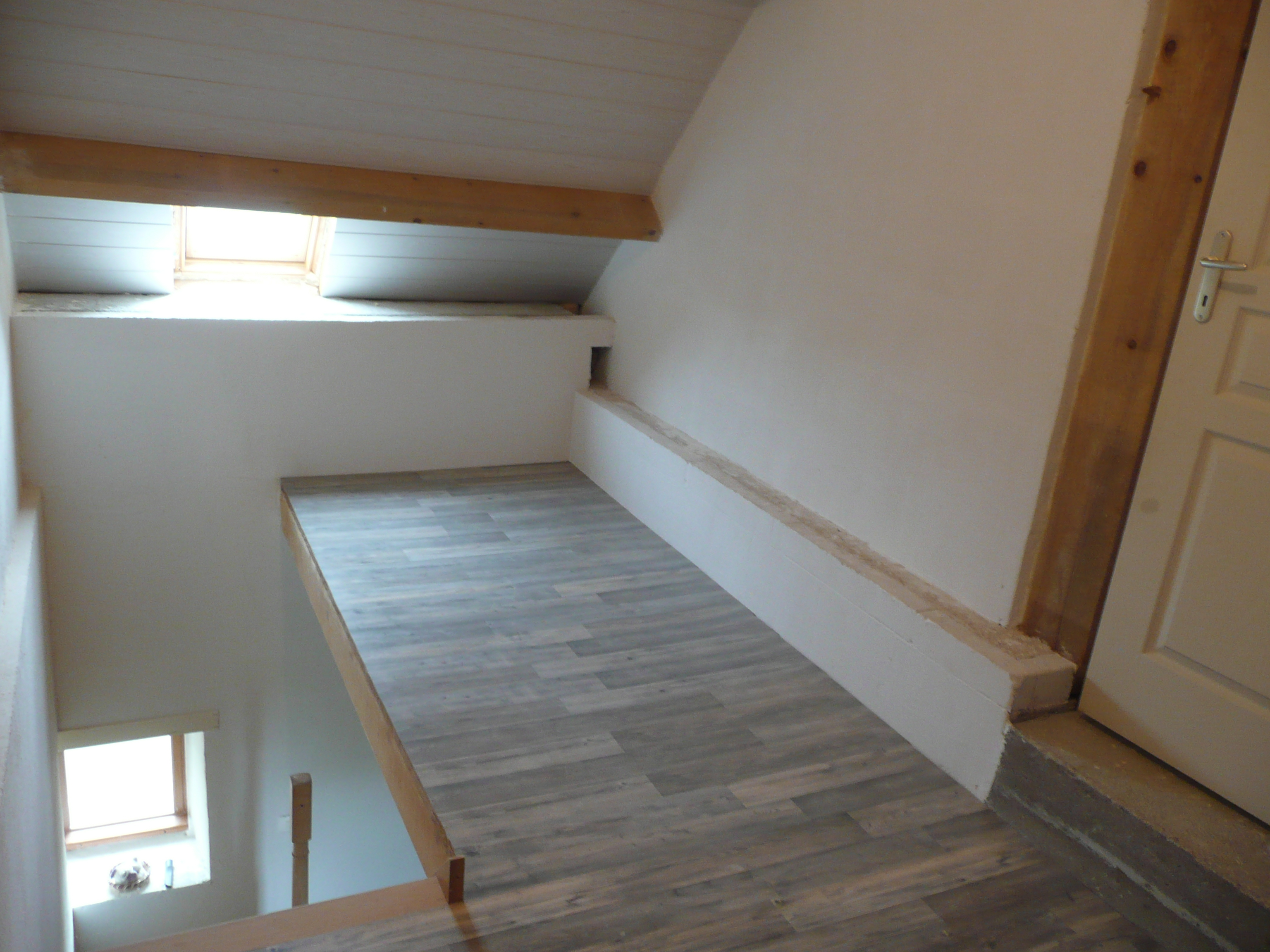 Pose Du Parquet Sur Palier R Nov Malong Re58