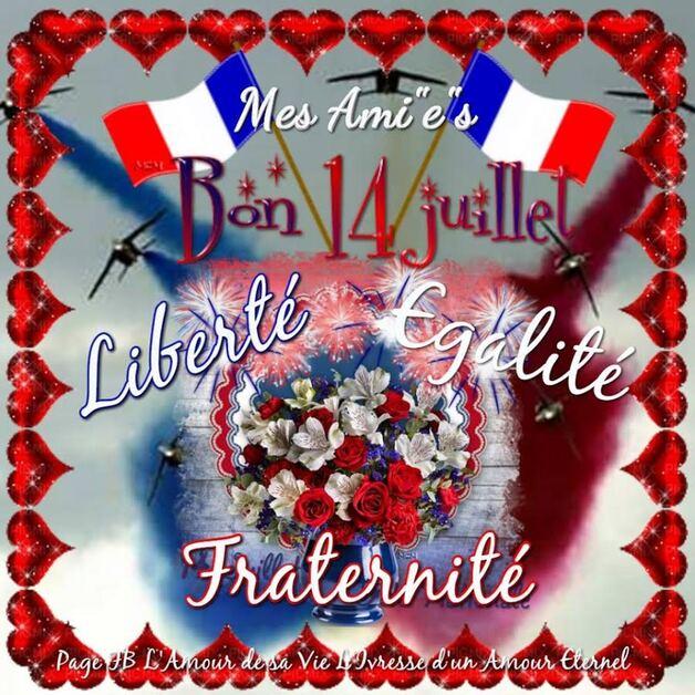 Bonne Fête à nos amis-es de la France