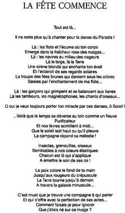 LA FETE COMMENCE (opus 1014)