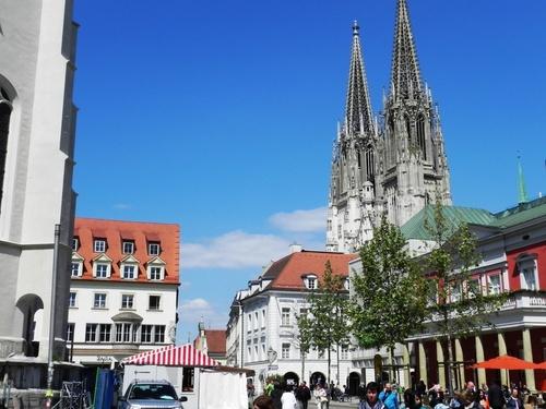 Promenade dans Ratisbonne en Allemagne (photos)