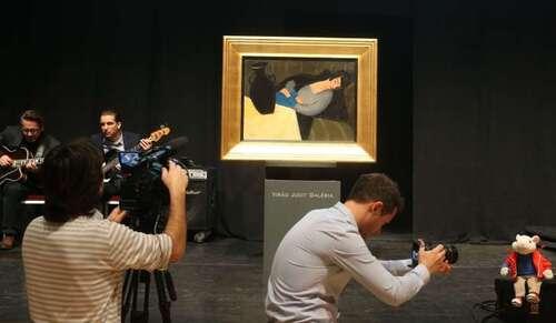 """Un tableau retrouvé grâce à """"Stuart Little"""" adjugé 229.500 euros"""