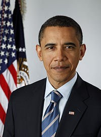 200px-Official portrait of Barack Obama