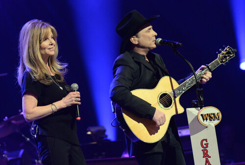 Photos de Lisa et son mari ,Clint Black