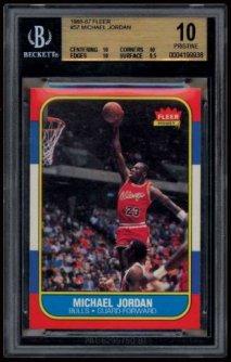 Michael Jordan, la folie en carton