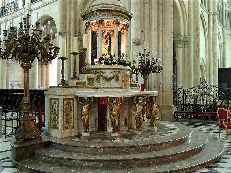 NOYON (60) : la cathédrale Notre-Dame