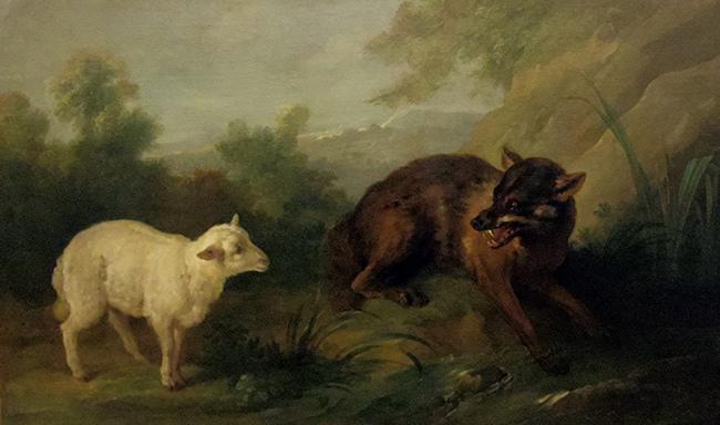 Esope et La Fontaine : Le loup et l'agneau