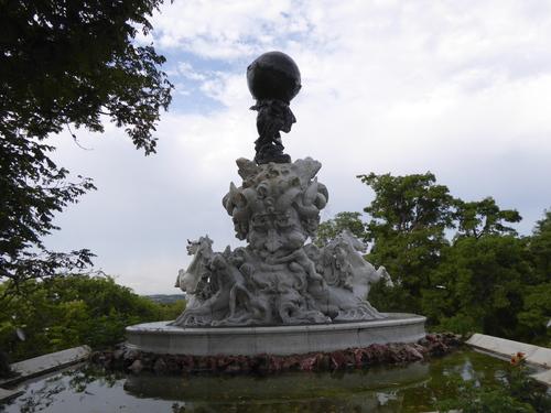 Parc dans Béziers