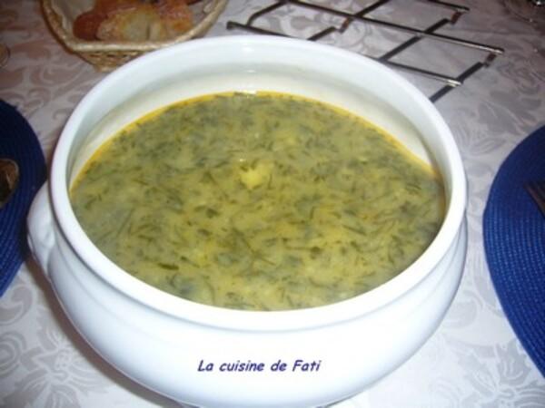 Caldo verde (soupe portugaise)