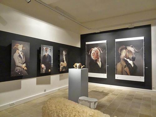 L'exposition des designers d'Ibride au musée Buffon à Montbard