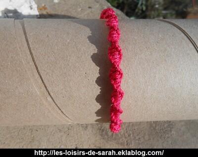 Bracelet - Spiral Knot (12)