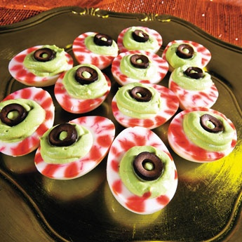 Recette Halloween Des Yeux Mimosa Axone