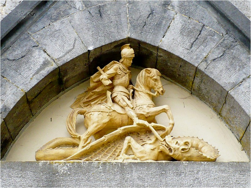 Saint Georges et le Dragon ...