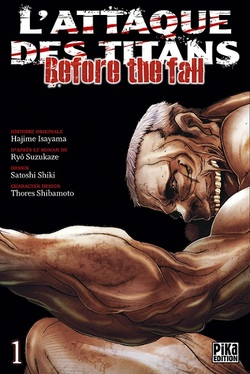 L'Attaque des Titans - Before the Fall - tome 1