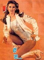 Février 1979 : Body lamé argent.