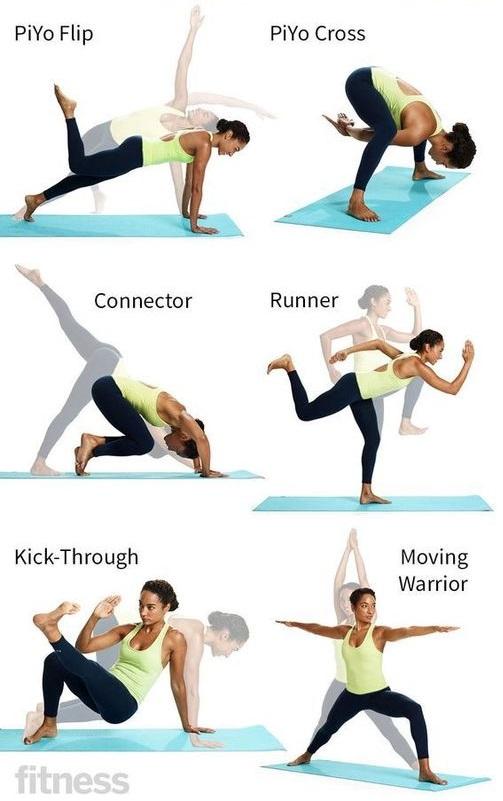 PiYo exercices