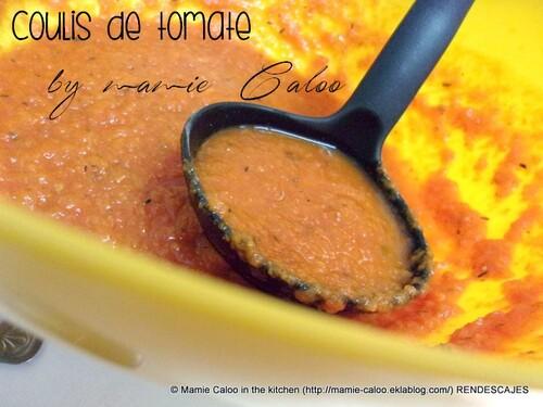 Macaroni au coulis de tomate