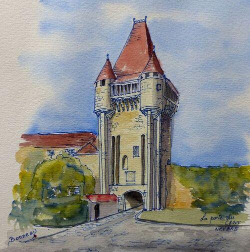 La porte du Croux