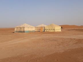 Une partie du campi