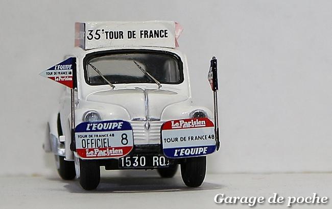 4cv L'Équipe Tour de France 1948