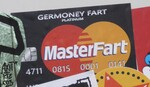 parodierte Master-Card