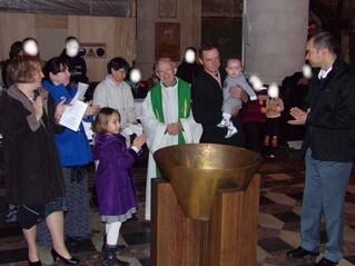 Le baptême de Lucas : les photos !