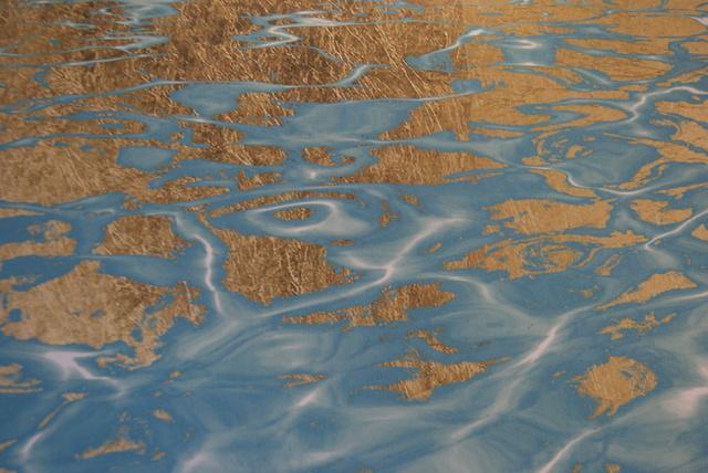 Tableau 'Pristine Waters' (Eaux cristallines) d'Oliver Gal