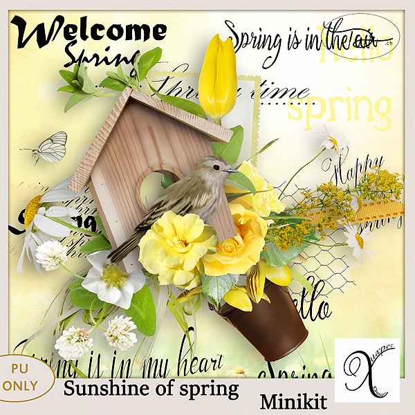 Sunshine of spring Minikit