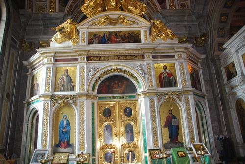 Notre-Dame de Kazan à Saint Pétersbourg (photos)