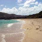 En allant vers le sud de la plage - Photo : Hervé -
