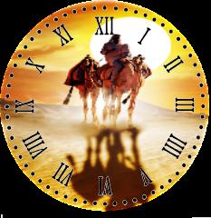 Horloge du mois de juillet
