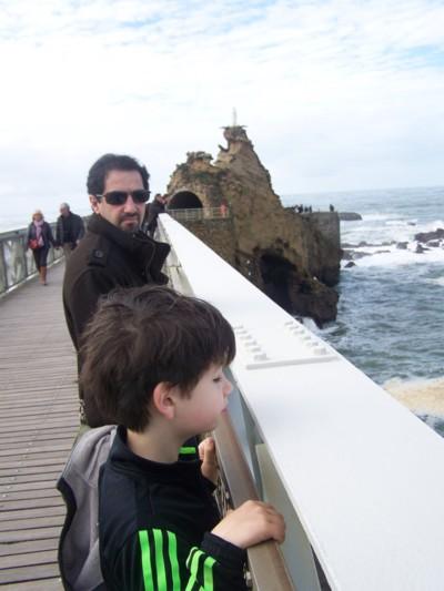 Blog de chipiron : Un chipiron dans les Landes, Le Rocher de la Vierge