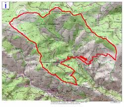 Le Circuit des Clôtures (1.798 m) depuis Urbanya (856 m)