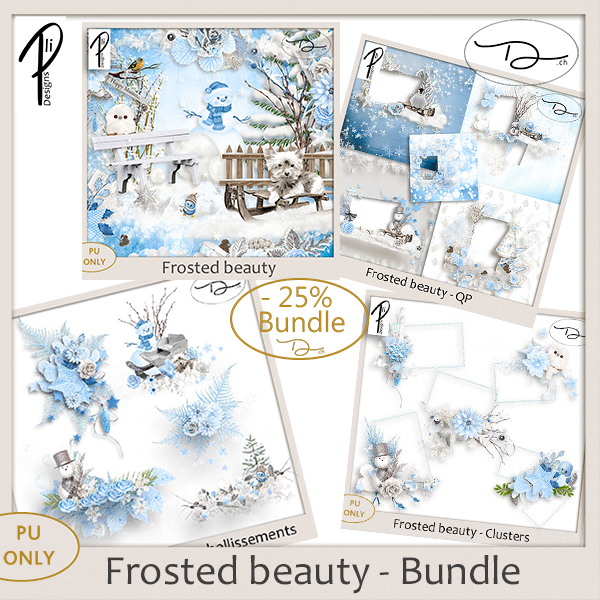 Frosted beauty - Bundle (PU) Plidesigns