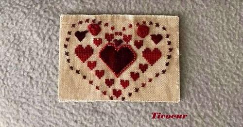 Echange ATC sur mon forum :les coeurs 2