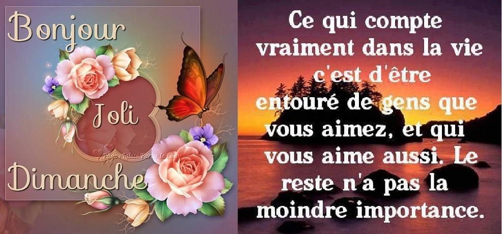 Bonjour Bon Dimanche Marie Fabinou