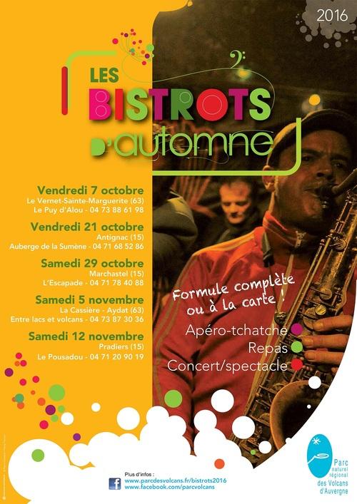 Marchastel : Les Bistrots d'automne 2016