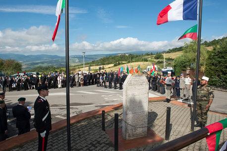 """""""Ne meurent que ceux que l'on oublie"""" -  L'ANIEL commémore le 70ème anniversaire des combats de la """"13"""" à RADICOFANI le 17 Juin 1944"""