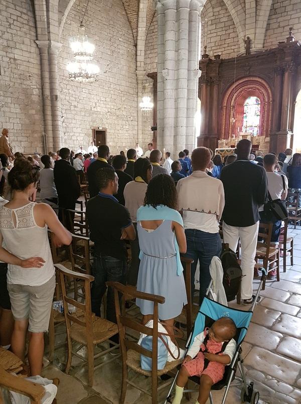 Messe en semaine ( l'été) au sanctuaire
