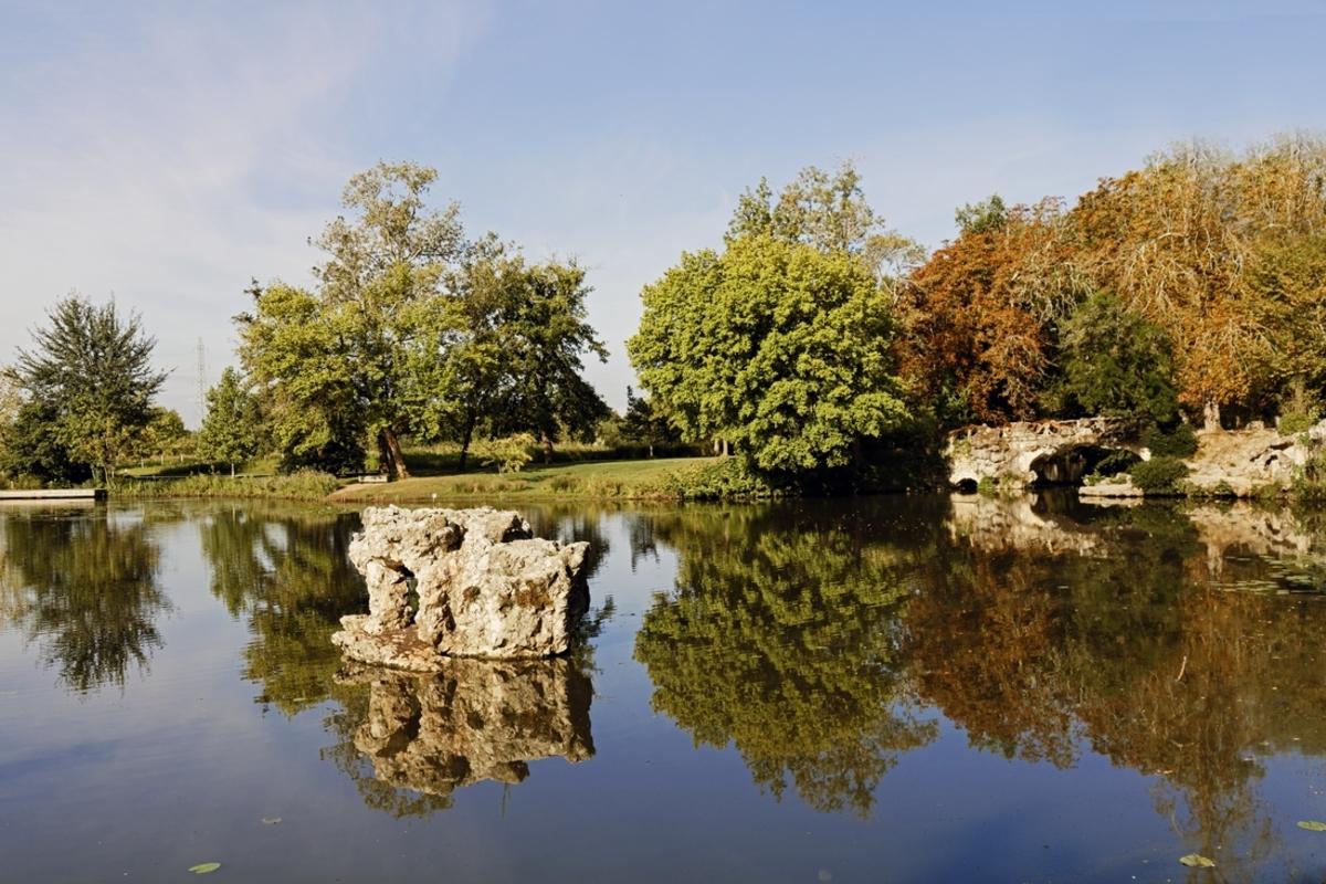 Blanquefort Parc Majolan reflets