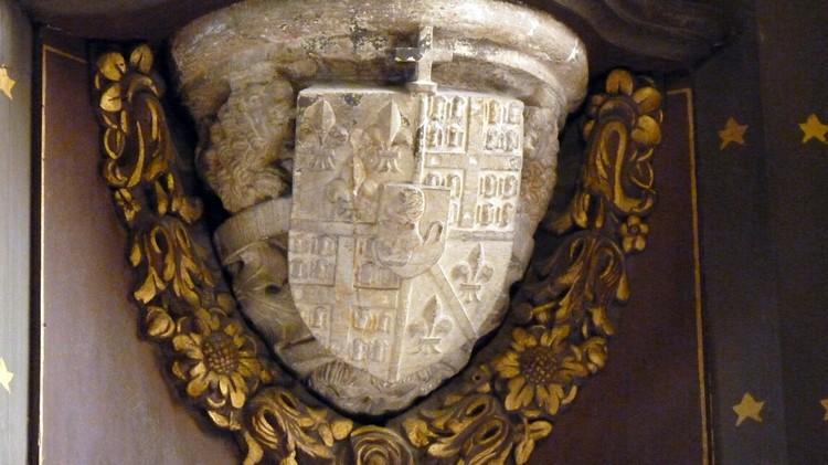 Armoiries du baron de Vitré