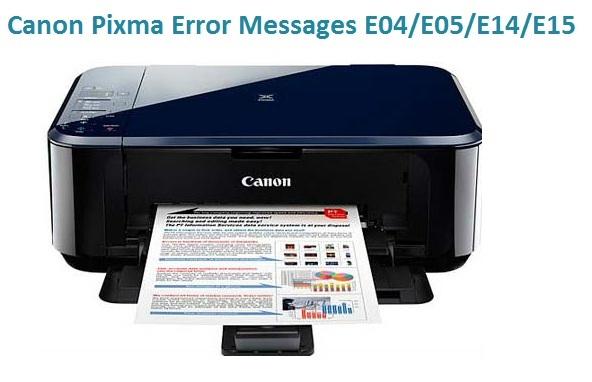 Canon Pixma Error