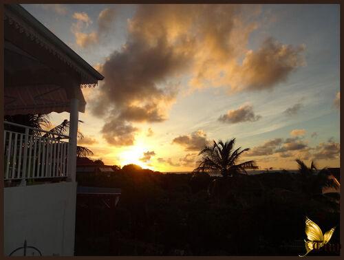 Voyage en Guadeloupe - ses levers de soleil